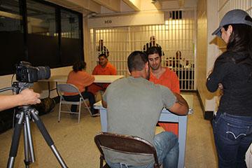 ME at the jail