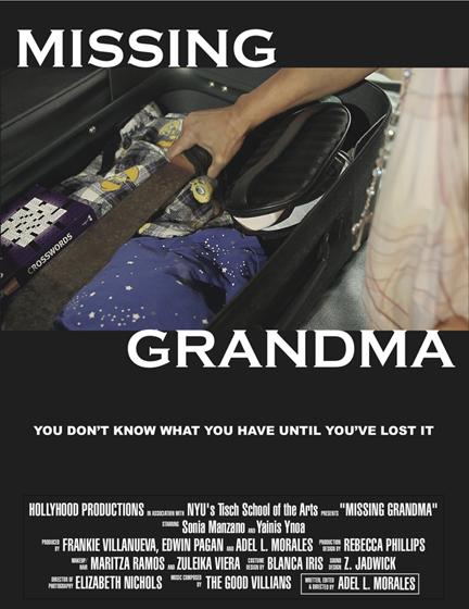 Missing Grandma Poster